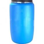 Бочка тара пластиковая с крышкой на обруч 227 литров, Сургут