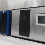 Вагон-бытовка 6 м х 2.4 м зимняя на металлокаркасе., Сургут