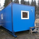 Блок-контейнер 6 м х 2,4 м х 2,5 м на санях., Сургут