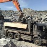 Доставка скального грунта самосвалами по Сургуту, Сургут