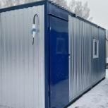 Бытовка зимняя 6,0 м х 2,4 м х 2,5 м на металлокаркасе., Сургут