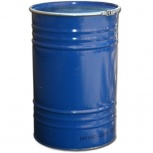 Бочка тара стальная с крышкой на обруч 100 литров, Сургут